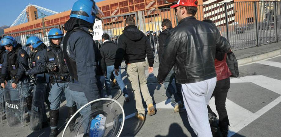 """Stadio vietato fino al 2019, tifoso sancataldese con Daspo sorpreso dalla Digos al """"Tomaselli"""""""