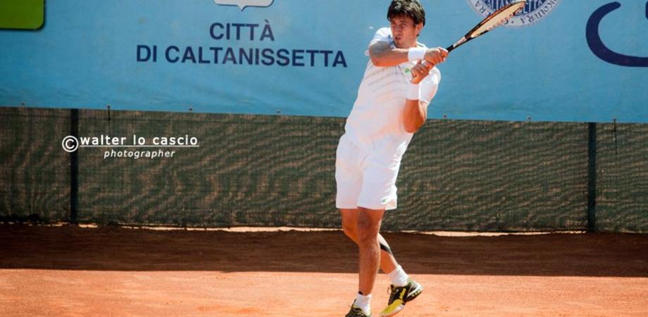 Tennis. Torneo Open Caltanissetta, Alessio Di Mauro è il primo finalista