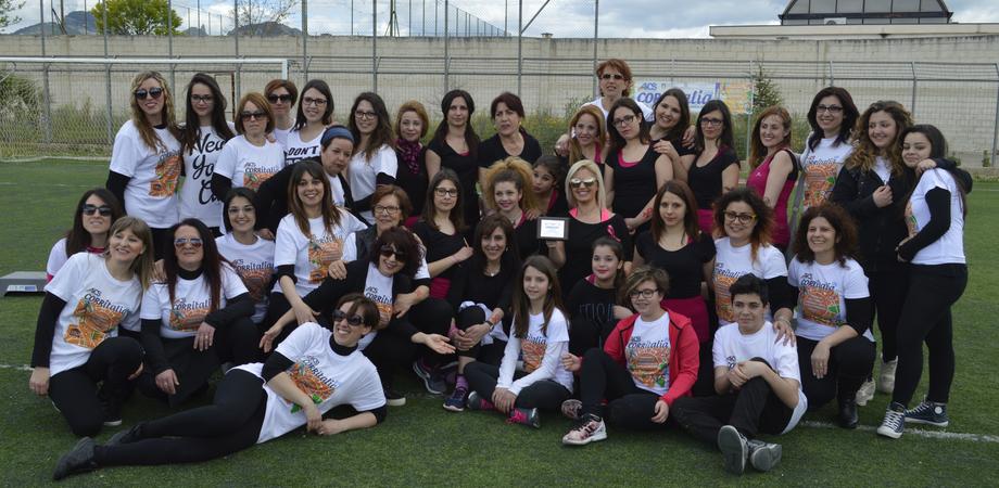 """""""Corritalia"""" a Bompensiere, centinaia in corsa contro la violenza sulle donne"""