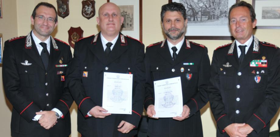Tutela del lavoro a Caltanissetta. Encomi ai carabinieri del Nil per le operazioni di legalità e sicurezza