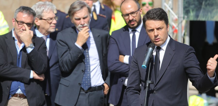 """""""Riaprire le strade chiuse è la priorità"""". Il premier Renzi sulla A19: mai più scandali come questo"""