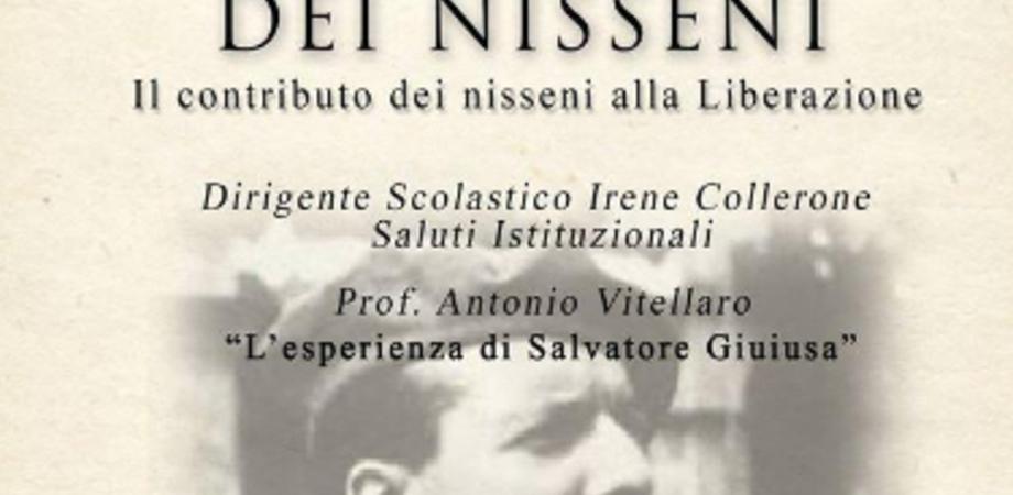 """La Resistenza dei nisseni, mercoledì incontro al Liceo classico """"Settimo"""""""