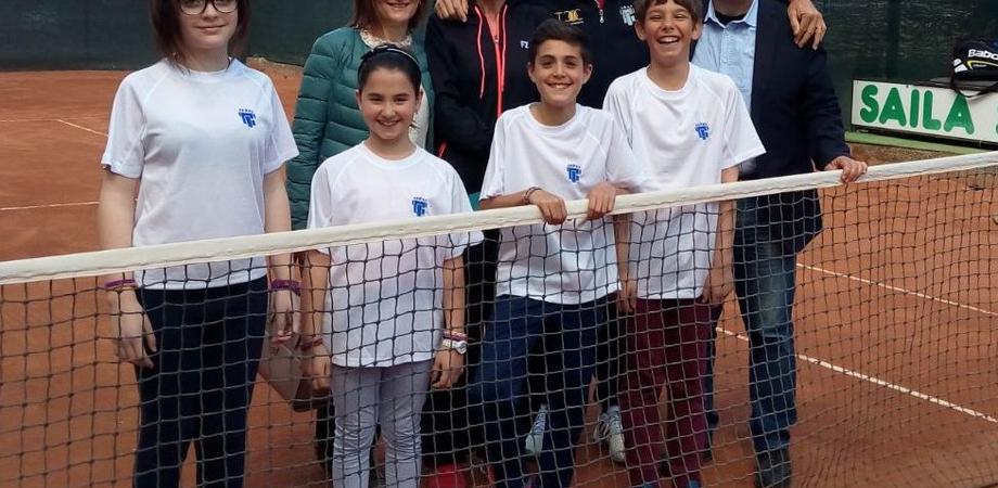 """""""Racchette di classe"""". Quattro studenti di Caltanissetta partecipano agli Internazionali d'Italia"""