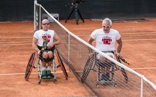 Challenger Caltanissetta, emozioni per il match tra campioni in carrozzina