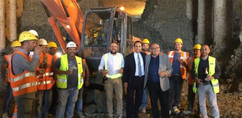 """Il raddoppio della Caltanissetta-Agrigento: abbattuto l'ultimo diaframma della galleria """"Bersaglio"""""""