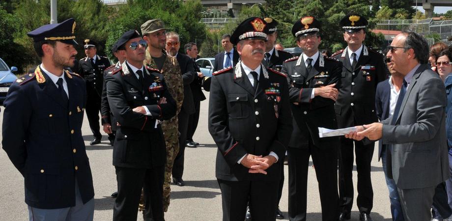 Sicurezza e immigrazione a Caltanissetta: il vice comandante dell'Arma in visita al centro di Pian del Lago