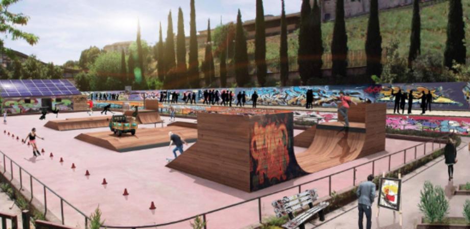Caltanissetta, sabato l'inaugurazione del Polmone Urbano. Rinasce l'ex pista di pattinaggio