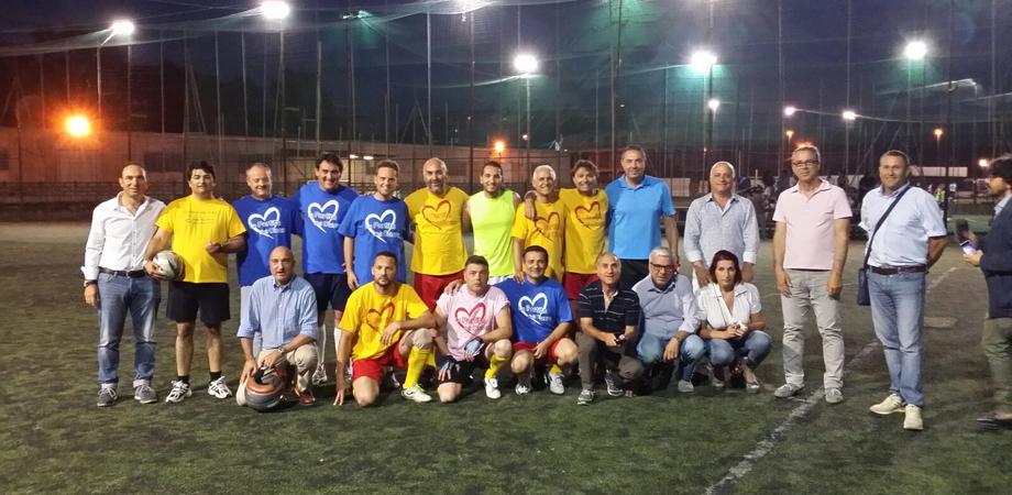 """Politica e pallone, l'Udc Caltanissetta scende... in campo. """"Unità per le prossime sfide"""""""