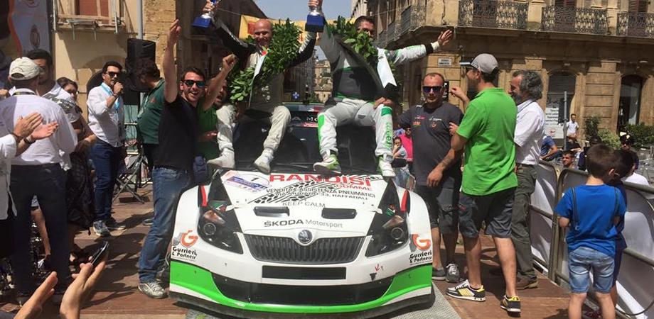 Rally di Caltanissetta, Mirabile e Calderone campioni bis. Successo di pubblico per la 14° gara