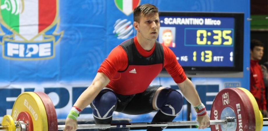 Olimpiadi Rio. Mirco Scarantino portacolori dell'Italia della Pesistica con Giorgia Bordignon