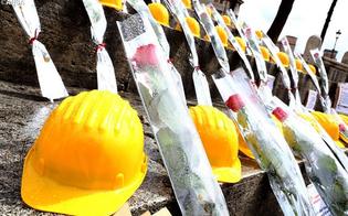 L'operaio caduto dal traliccio, aperta inchiesta. A Santa Caterina proclamato il lutto cittadino