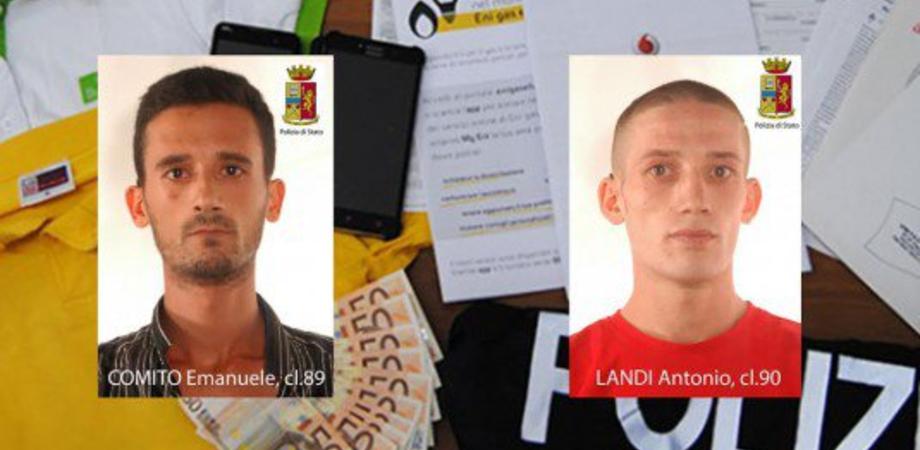 Truffa nel Nisseno: si spacciano impiegati Enel e spillano 40mila euro a benestante, due in manette