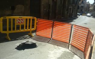 Esplode condotta idrica, chiusa via Re d'Italia. Disagi per la circolazione e per i residenti