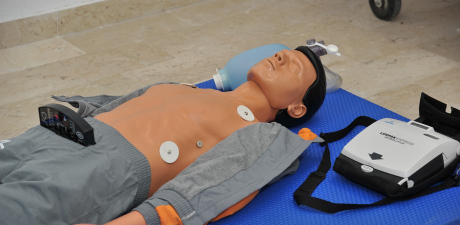 Primo soccorso e rianimazione, al Cefpas avviate lezioni per usare il defibrillatore