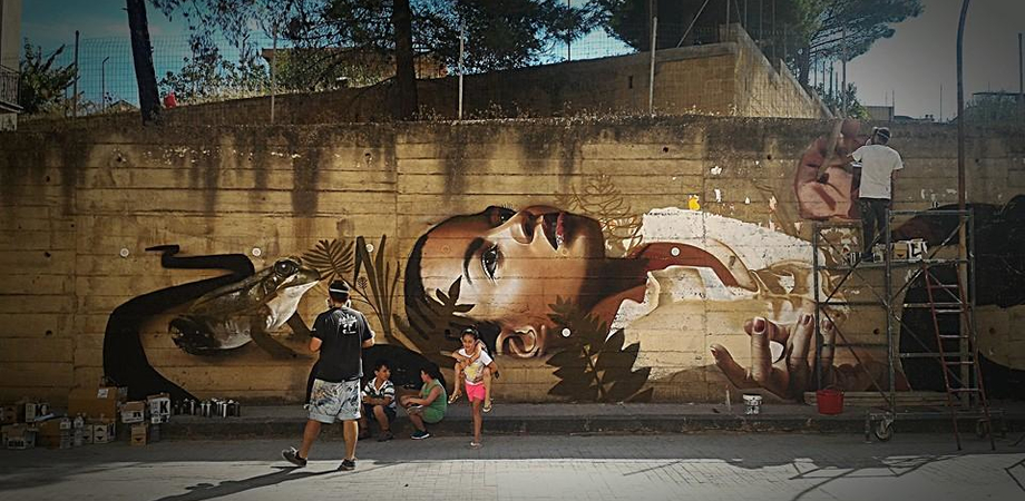 A Serradifalco nasce Spazio HeArt, il 4 settembre street artist contro il degrado urbano