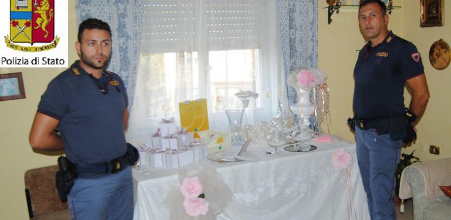 Sposi all'altare e i ladri tentano furto dei regali di nozze: due arresti a Gela