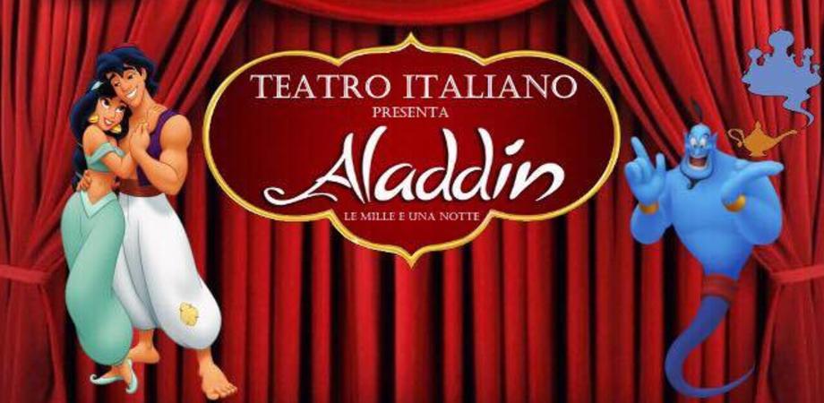 """Teatro Italiano a Caltanissetta. Il 15 e 16 ottobre va in scena """"Aladdin"""" al Sacro Cuore"""