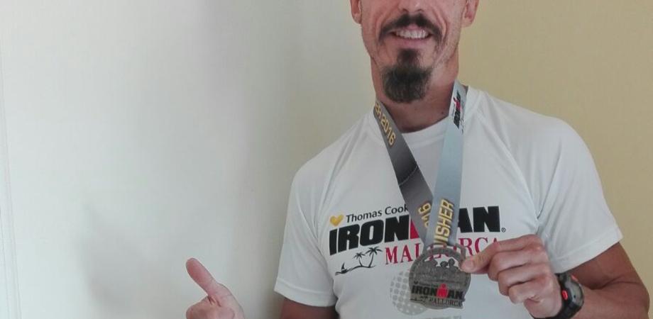 Ironman, a Palma di Maiorca il trionfo di Maurilio Usai. Il moto perpetuo tra bici e maratona