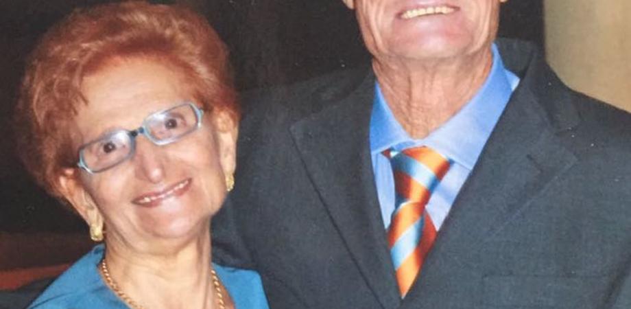 Un amore lungo 60 anni. Festa a Caltanissetta per i coniugi Bello