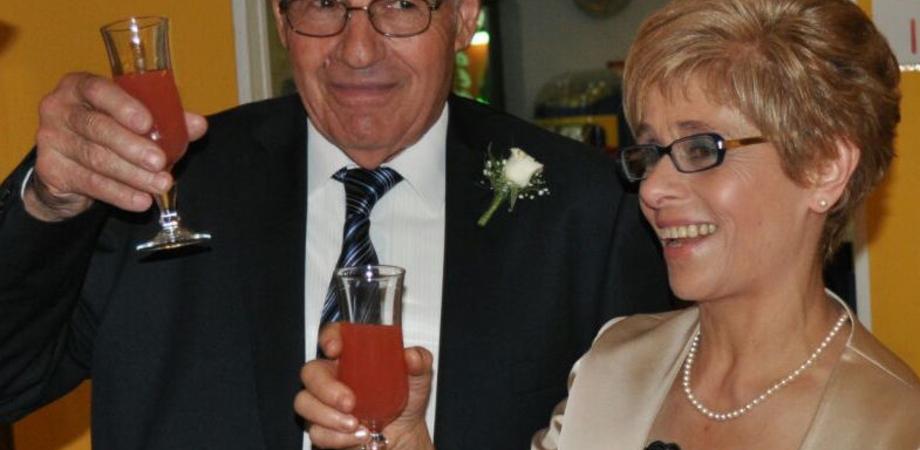 Cinquant'anni d'amore. Festa a Caltanissetta per i coniugi D'Asero