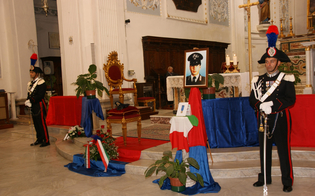 Roberto Ticli, ricordato a Niscemi il sacrificio del carabiniere ucciso 26 anni fa