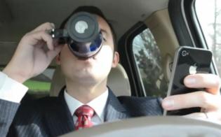 Focus. Al volante ubriachi o chattando: il 57% studenti ammette di farlo