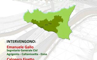 Caltanissetta, aree vaste: Cisl organizza incontro tra sindaci per il rilancio del centro Sicilia