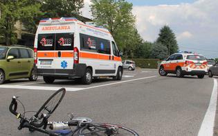 Brutto incidente per un 50enne sancataldese: cade dalla bici e finisce privo di sensi in ospedale