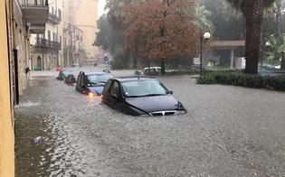 Nubifragio su Licata, strade invase dall'acqua: il sindaco non uscite di casa. In arrivo soccorsi da Caltanissetta