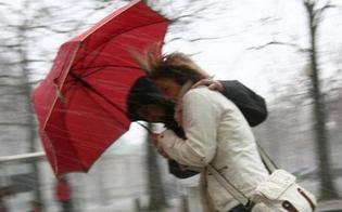Arriva il maltempo in Sicilia: da domani freddo e venti di burrasca