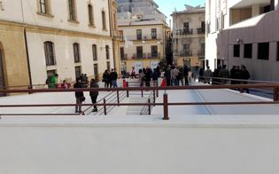 Caltanissetta, il sindaco Giovanni Ruvolo augura buon anno con la riapertura della salita Matteotti