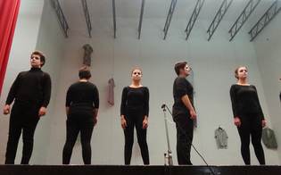 Caltanissetta, Liceo Scientifico: la performance teatrale