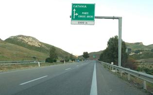 Autostrada A19, limitazioni allo svincolo Cinque Archi: al via interventi di adeguamento degli impianti di illuminazione