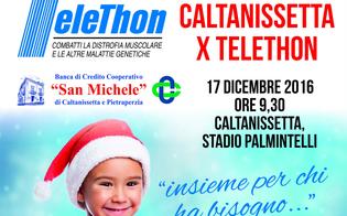 Caltanissetta, forze dell'ordine in campo per Telethon: sabato 17 il quadrangolare di calcio al Palmintelli