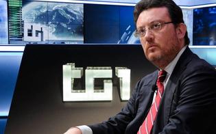 Il direttore del Tg1 Mario Orfeo telefona al sindaco Ruvolo:
