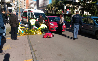 Caltanissetta, pedone investito in via Malta trasportato al pronto soccorso del Sant'Elia