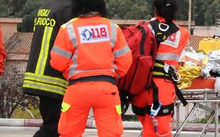 Caltanissetta, a Natale auto si ribalta in contrada Xirbi: 39enne finisce in ospedale