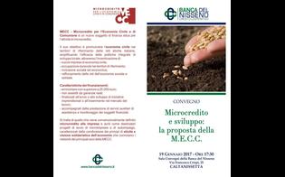 Caltanissetta, alla Banca del Nisseno un convegno sul finanziamento alle microimprese