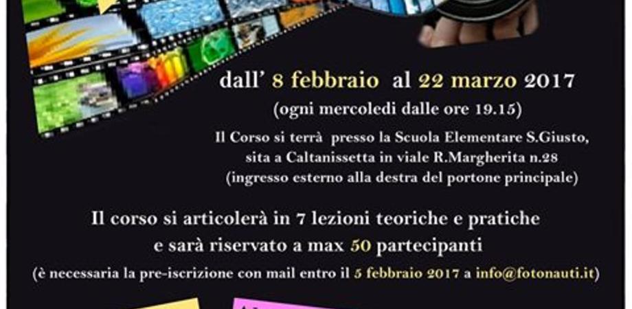 Caltanissetta, l'associazione Fotonauti organizza un corso di fotografia digitale