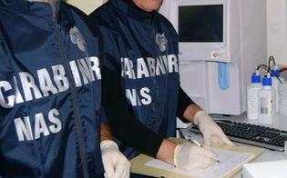 Controlli a tappeto dei Nas negli ospedali per Sos sovraffollamento: questa mattina al Sant'Elia