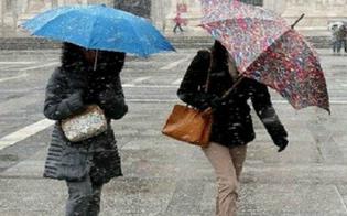 Maltempo: torna la perturbazione artica in Sicilia, a Caltanissetta qualche fiocco di neve