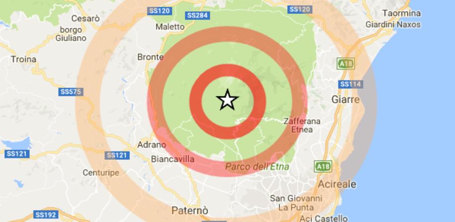 Sciame sismico sull'Etna: 50 le scosse registrate a partire da questa mattina