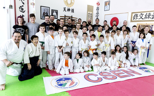 Caltanissetta, successo per lo stage di arti marziali tenuto dalla maestra Wakabayashi