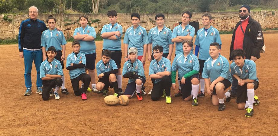 Nissa Rugby, esordio per i giocatori under 14 guidati dai tecnici D'Oro e Letizia