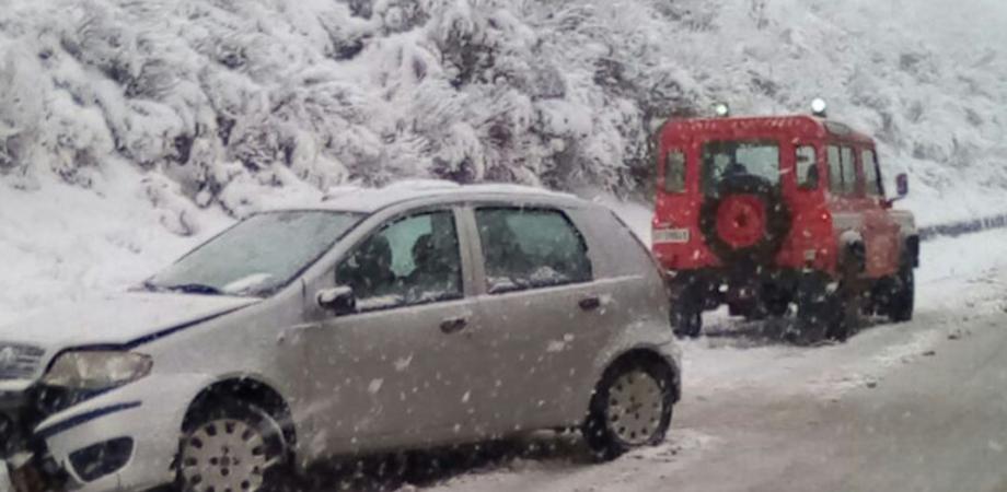 Caltanissetta, condizioni meteo avverse: possibili nevicate nelle prossime ore