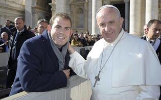 Il sancataldese Vincenzo Siracusa a Roma collabora ad un film sulla vita di Papa Francesco