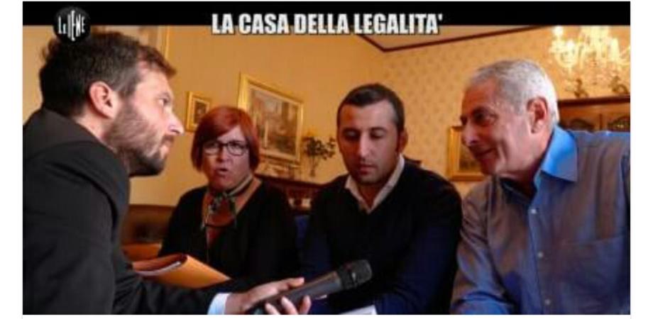 """Ancora l'attenzione de Le Iene su Caltanissetta. Il caso Pecoraro e """"la casa della legalità"""""""