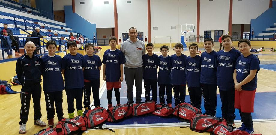 Caltanissetta, basket giovanile: doppia vittoria dell'Airam e gran festa finale