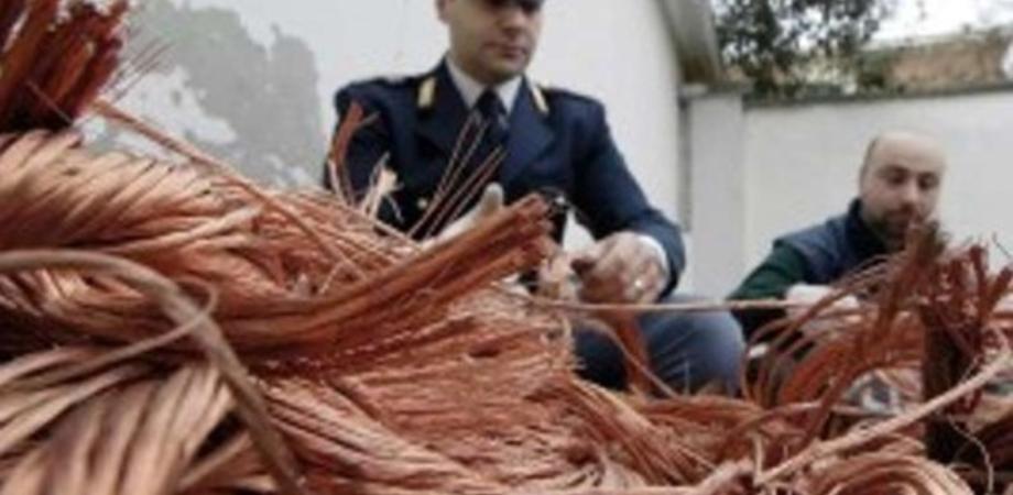 Caltanissetta, in un anno rubati 100 km di rame in provincia: danni fino a 1 milione