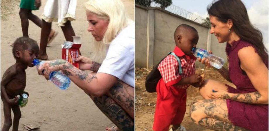 Nigeria, Hope adesso va a scuola: volontaria ricrea scatto di quando salvò il bimbo